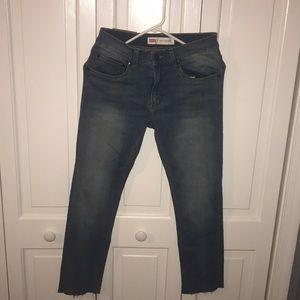 Levi's 510 skinny mid wash jeans